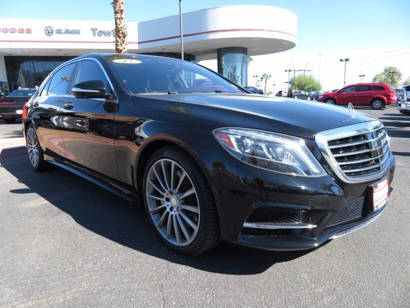 2015 Mercedes-Benz S-Class 4dr Sedan S 550 RWD - 16730625 - 2