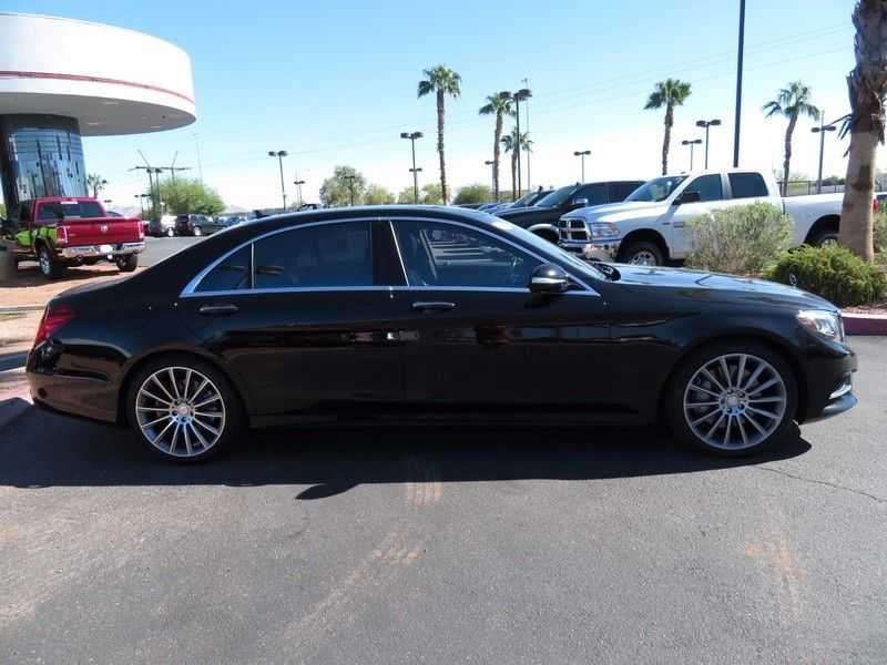 2015 Used Mercedes Benz S Class 4dr Sedan S 550 Rwd At