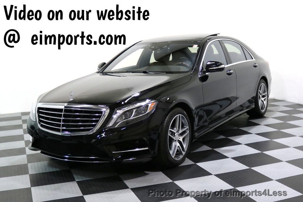 2015 Mercedes-Benz S-Class CERTIFIED S550 4Matic AMG Sport Package AWD PANO LED NAVI - 17425253 - 0