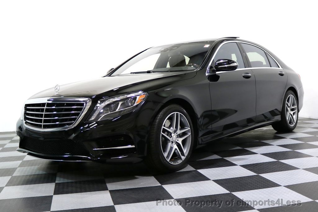 2015 Mercedes-Benz S-Class CERTIFIED S550 4Matic AMG Sport Package AWD PANO LED NAVI - 17425253 - 14