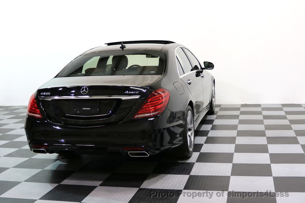2015 Mercedes-Benz S-Class CERTIFIED S550 4Matic AMG Sport Package AWD PANO LED NAVI - 17425253 - 18