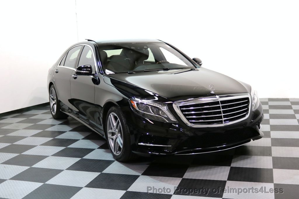2015 Mercedes Benz S Class CERTIFIED S550 4Matic AMG Sport Package AWD PANO  LED