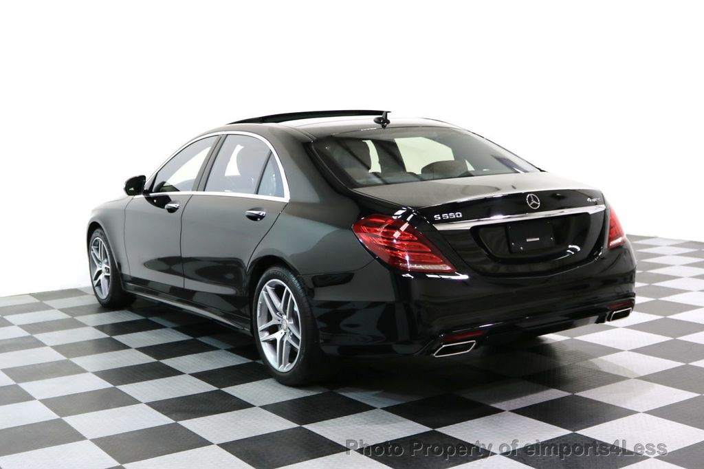 2015 Mercedes-Benz S-Class CERTIFIED S550 4Matic AMG Sport Package AWD PANO LED NAVI - 17425253 - 32