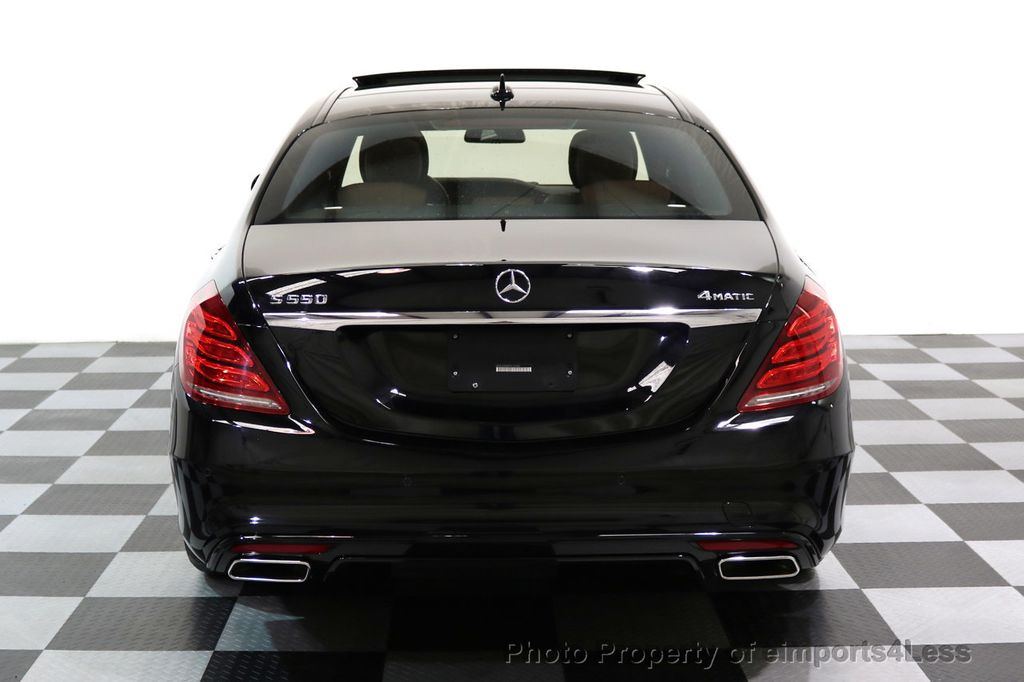 2015 Mercedes-Benz S-Class CERTIFIED S550 4Matic AMG Sport Package AWD PANO LED NAVI - 17425253 - 33