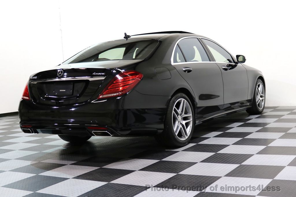 2015 Mercedes-Benz S-Class CERTIFIED S550 4Matic AMG Sport Package AWD PANO LED NAVI - 17425253 - 34