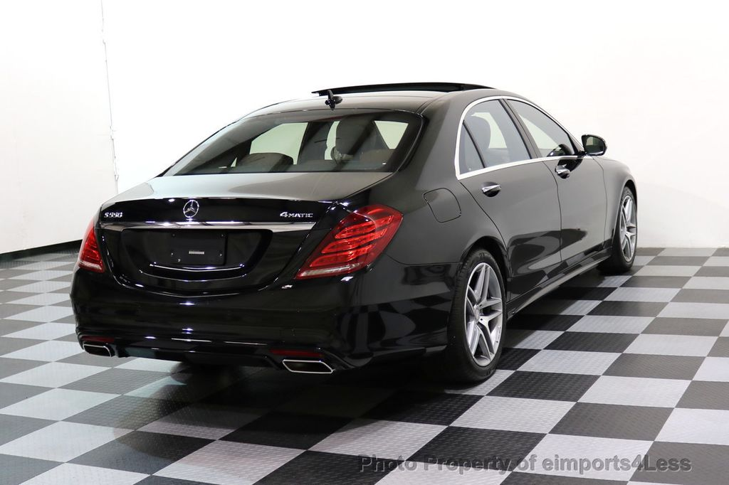 Good 2015 Mercedes Benz S Class CERTIFIED S550 4Matic AMG Sport Package AWD PANO  LED