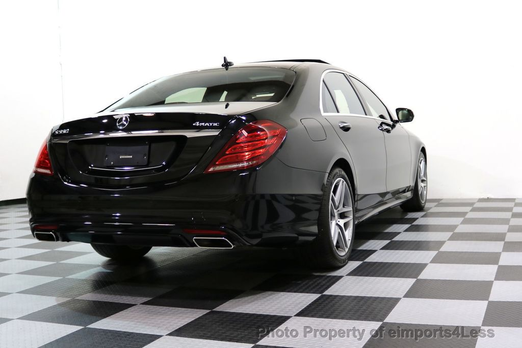2015 Mercedes-Benz S-Class CERTIFIED S550 4Matic AMG Sport Package AWD PANO LED NAVI - 17425253 - 56