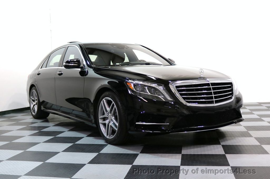 2015 Mercedes-Benz S-Class CERTIFIED S550 4Matic AMG Sport Package AWD PANO LED NAVI - 17425253 - 57
