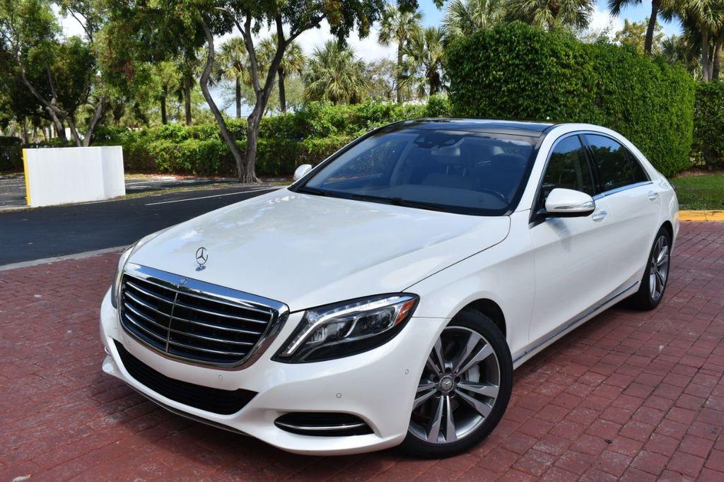 2015 Used Mercedes-Benz S-Class S550 DIAMOND WHITE ...