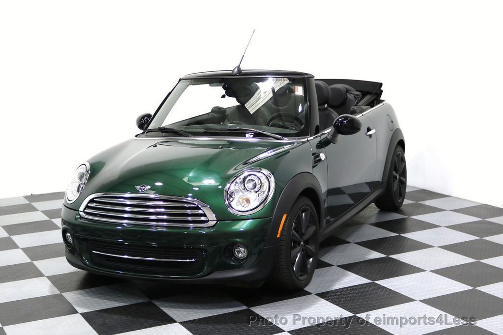 2015 MINI Cooper Convertible CERTIFIED COOPER CABRIOLET NAVIGATION - 17234273 - 0