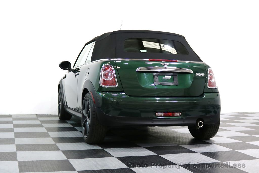 2015 MINI Cooper Convertible CERTIFIED COOPER CABRIOLET NAVIGATION - 17234273 - 46