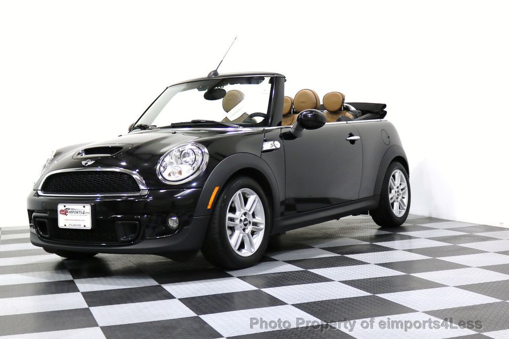 2015 MINI Cooper Convertible CERTIFIED COOPER S CABRIOLET HK LEATHER - 17274704 - 12