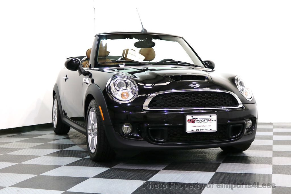 2015 MINI Cooper Convertible CERTIFIED COOPER S CABRIOLET HK LEATHER - 17274704 - 13