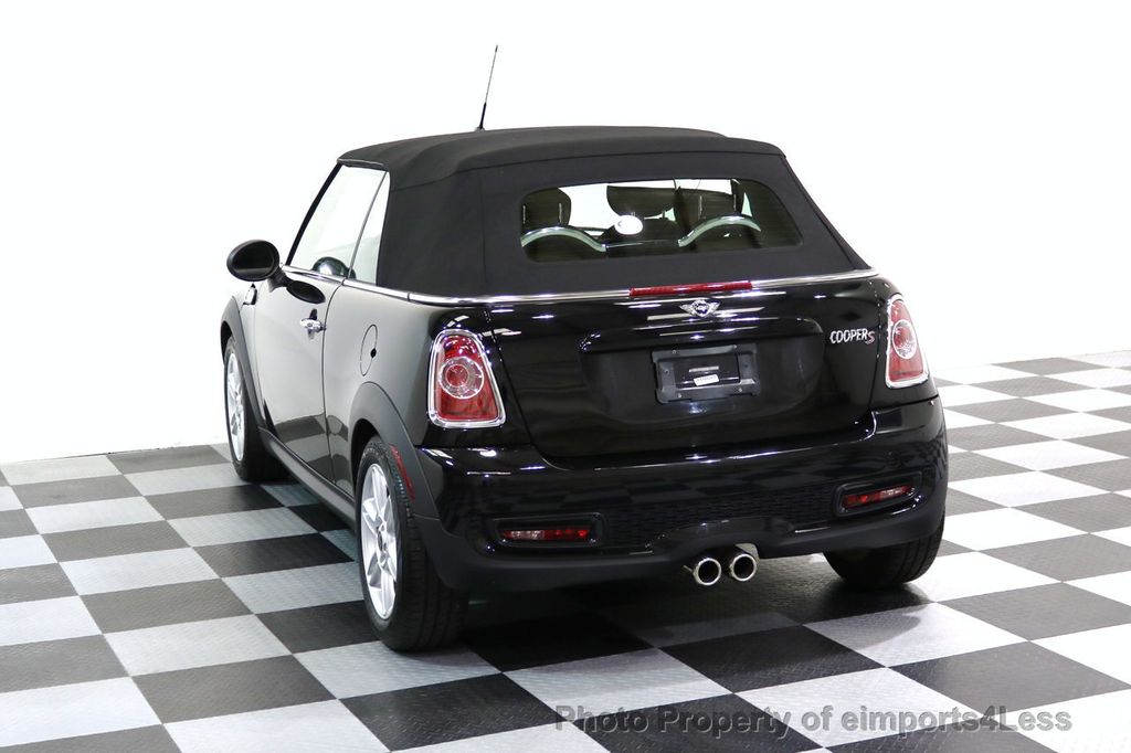 2015 MINI Cooper Convertible CERTIFIED COOPER S CABRIOLET HK LEATHER - 17274704 - 14