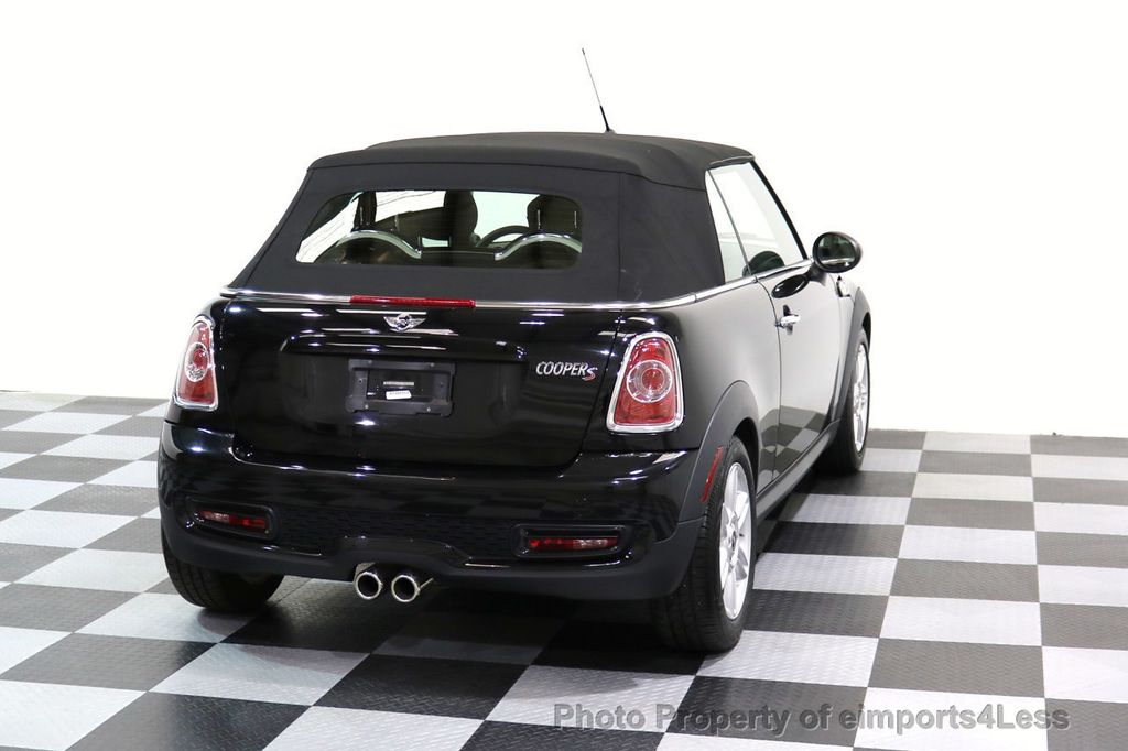 2015 MINI Cooper Convertible CERTIFIED COOPER S CABRIOLET HK LEATHER - 17274704 - 16