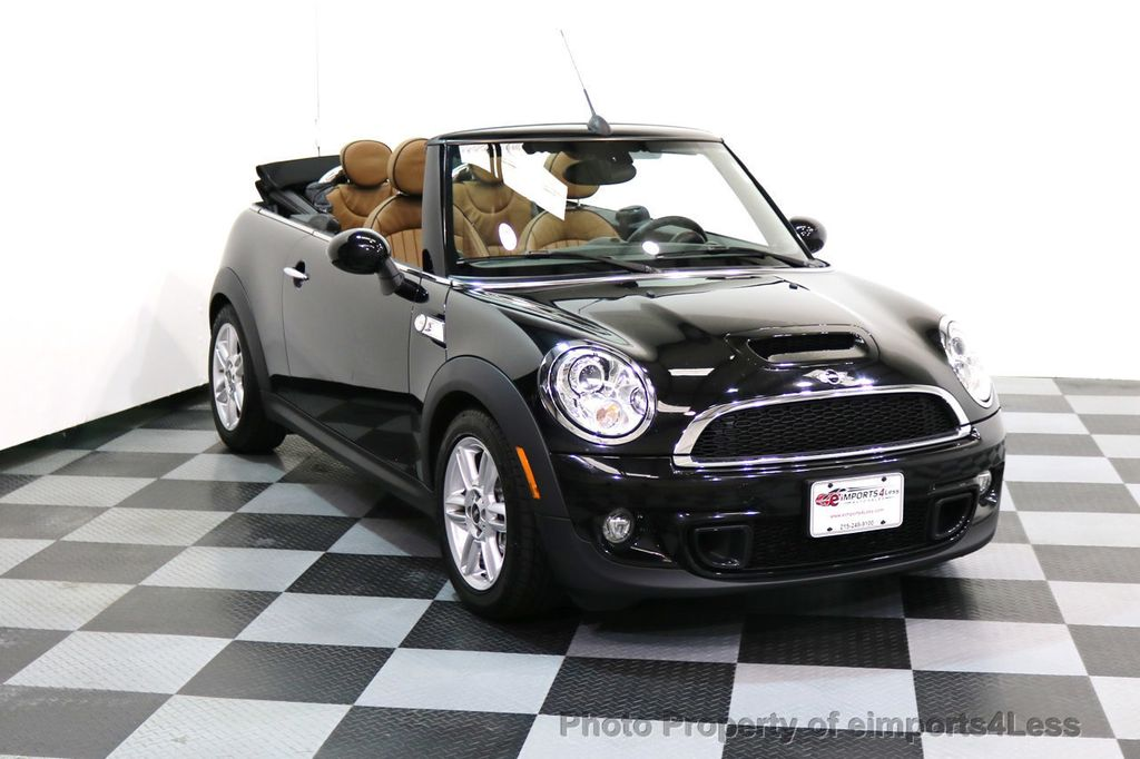 2015 MINI Cooper Convertible CERTIFIED COOPER S CABRIOLET HK LEATHER - 17274704 - 1