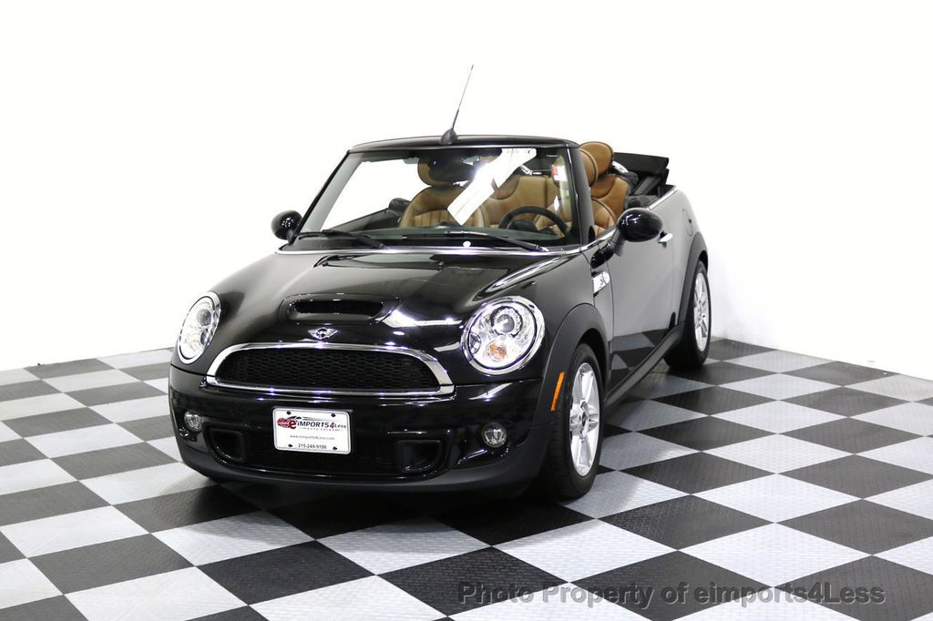 2015 MINI Cooper Convertible CERTIFIED COOPER S CABRIOLET HK LEATHER - 17274704 - 23