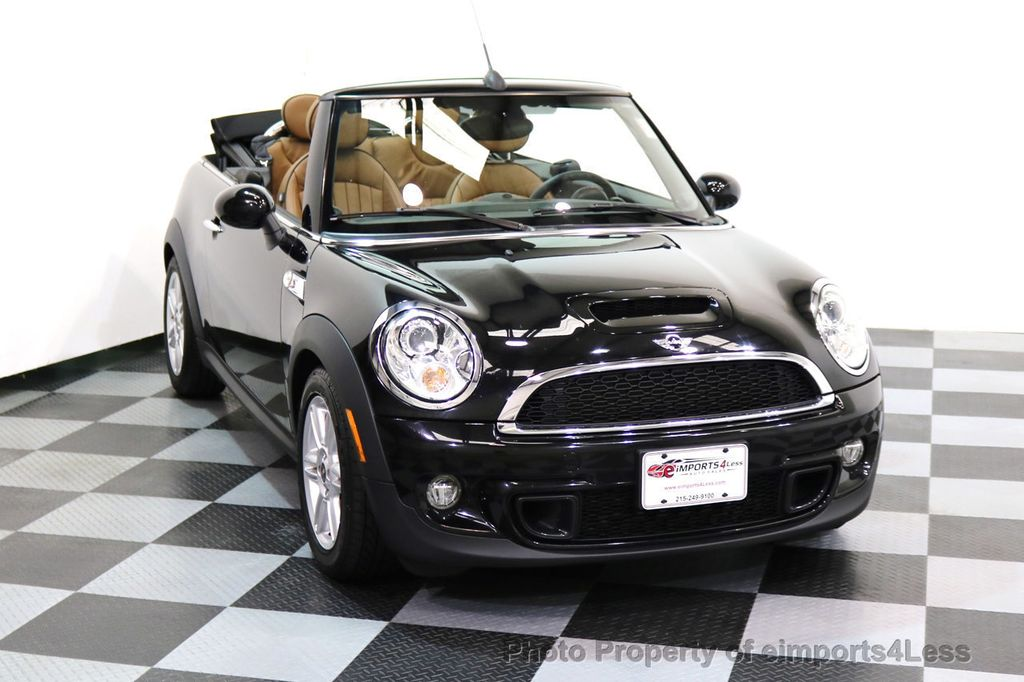 2015 MINI Cooper Convertible CERTIFIED COOPER S CABRIOLET HK LEATHER - 17274704 - 24