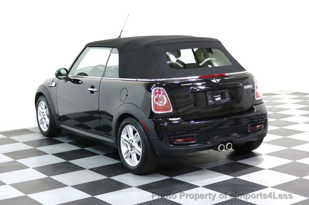 2015 MINI Cooper Convertible CERTIFIED COOPER S CABRIOLET HK LEATHER - 17274704 - 25