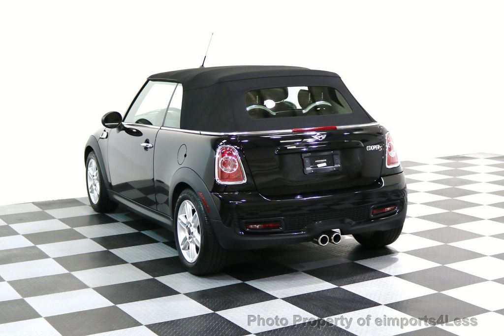 2015 MINI Cooper Convertible CERTIFIED COOPER S CABRIOLET HK LEATHER - 17274704 - 2