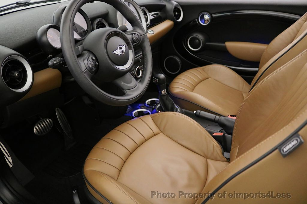 2015 MINI Cooper Convertible CERTIFIED COOPER S CABRIOLET HK LEATHER - 17274704 - 29