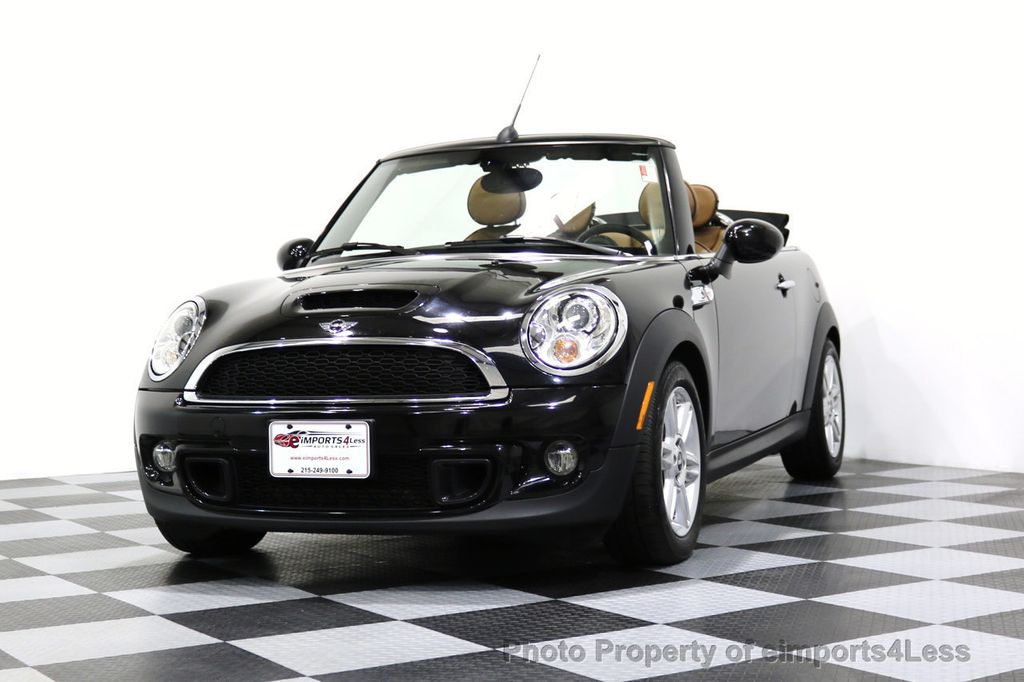 2015 MINI Cooper Convertible CERTIFIED COOPER S CABRIOLET HK LEATHER - 17274704 - 35