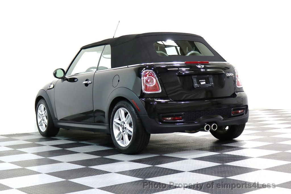 2015 MINI Cooper Convertible CERTIFIED COOPER S CABRIOLET HK LEATHER - 17274704 - 37