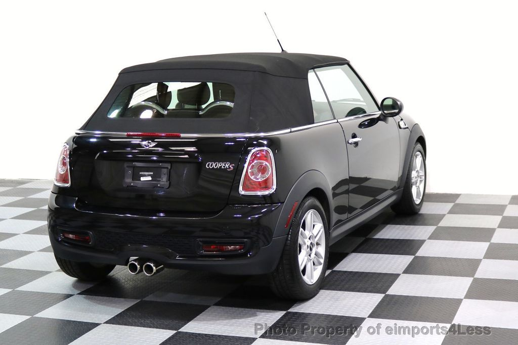 2015 MINI Cooper Convertible CERTIFIED COOPER S CABRIOLET HK LEATHER - 17274704 - 3