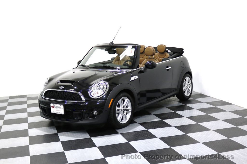 2015 MINI Cooper Convertible CERTIFIED COOPER S CABRIOLET HK LEATHER - 17274704 - 43