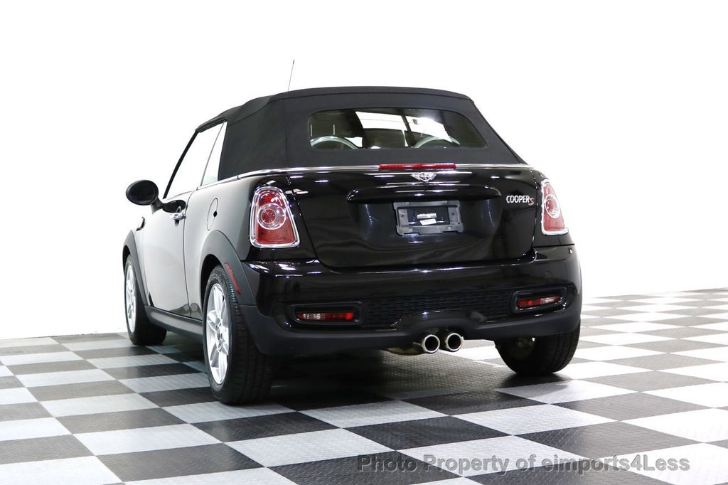 2015 MINI Cooper Convertible CERTIFIED COOPER S CABRIOLET HK LEATHER - 17274704 - 44