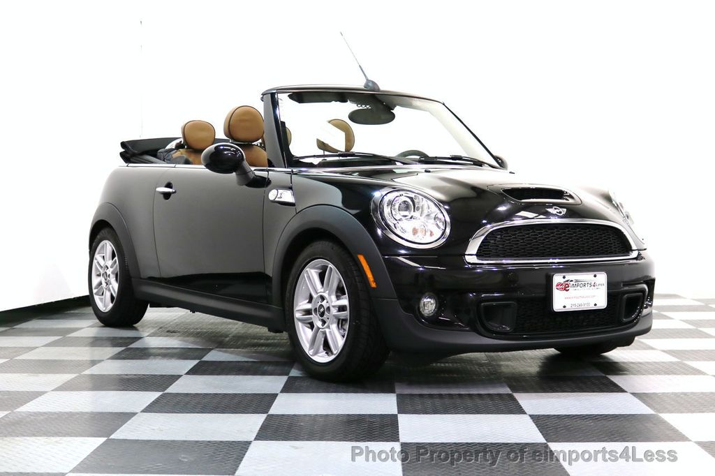 2015 MINI Cooper Convertible CERTIFIED COOPER S CABRIOLET HK LEATHER - 17274704 - 46