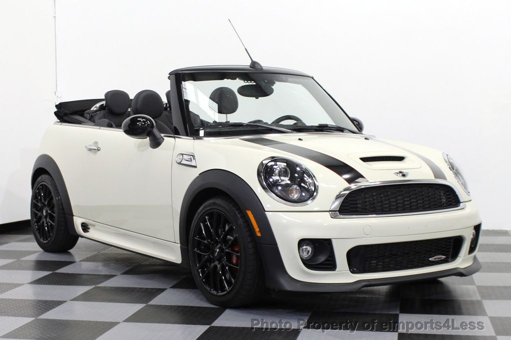 2015 used mini cooper convertible certified mini john cooper works convertible at eimports4less. Black Bedroom Furniture Sets. Home Design Ideas
