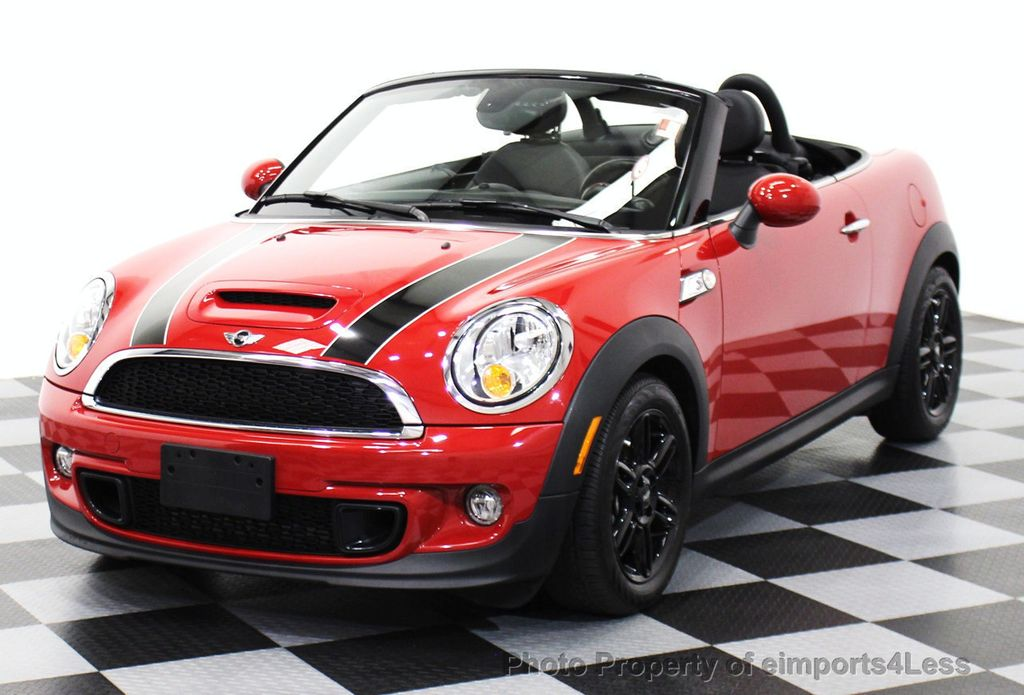 Used Mini Coopers >> 2015 Used MINI Cooper Roadster CERTIFIED MINI COOPER S ROADSTER at eimports4Less Serving ...