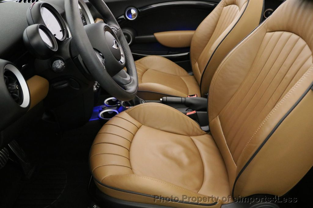 2015 MINI Cooper S Convertible CERTIFIED COOPER S CABRIOLET HK LEATHER - 17274704 - 27