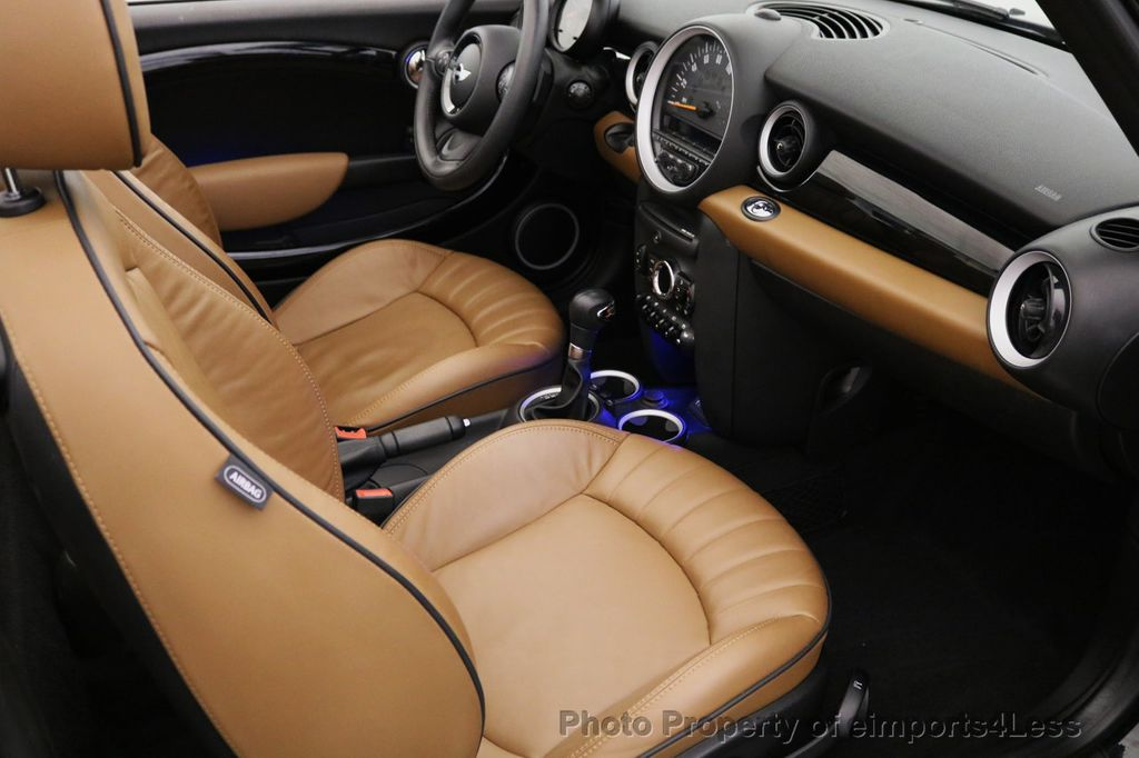 2015 MINI Cooper S Convertible CERTIFIED COOPER S CABRIOLET HK LEATHER - 17274704 - 28