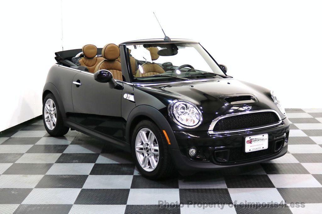 2015 MINI Cooper S Convertible CERTIFIED COOPER S CABRIOLET HK LEATHER - 17274704 - 36