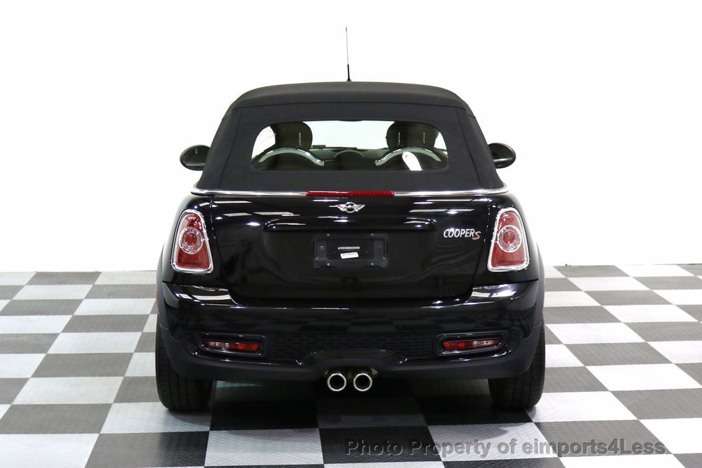 2015 MINI Cooper S Convertible CERTIFIED COOPER S CABRIOLET HK LEATHER - 17274704 - 38