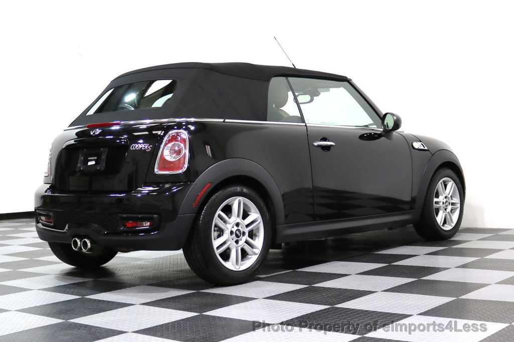 2015 MINI Cooper S Convertible CERTIFIED COOPER S CABRIOLET HK LEATHER - 17274704 - 39
