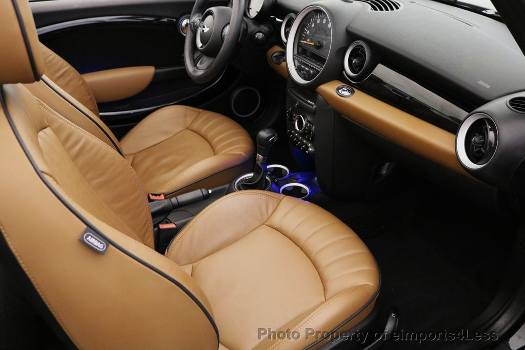 2015 MINI Cooper S Convertible CERTIFIED COOPER S CABRIOLET HK LEATHER - 17274704 - 42