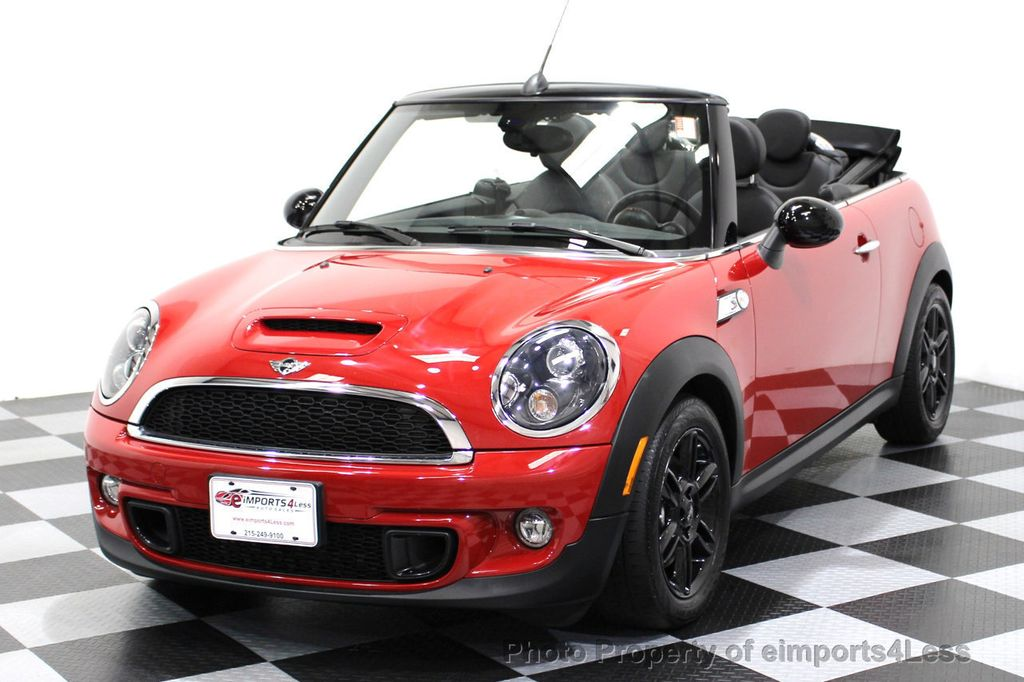 2015 used mini cooper s convertible certified cooper s convertible navigation at eimports4less. Black Bedroom Furniture Sets. Home Design Ideas