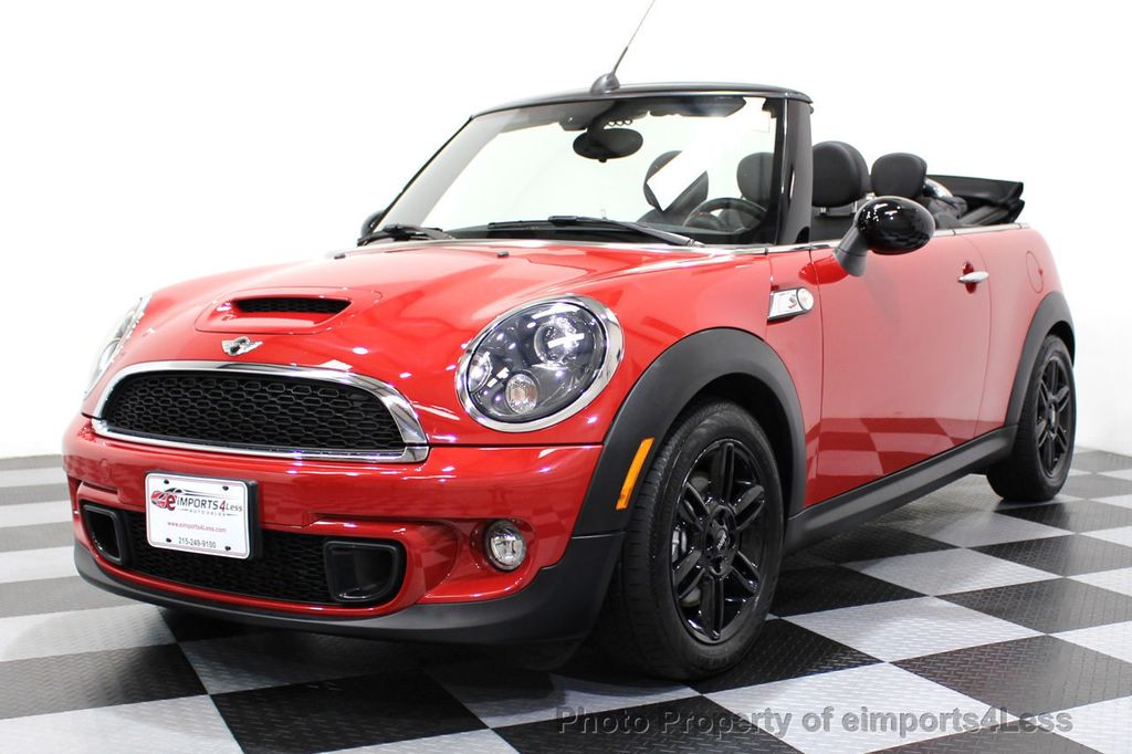 2015 MINI Cooper S Convertible CERTIFIED COOPER S CONVERTIBLE NAVIGATION - 16710023 - 12