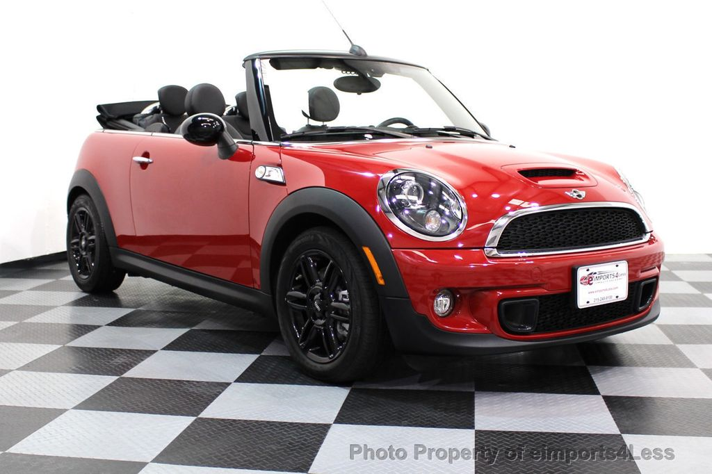 2015 MINI Cooper S Convertible CERTIFIED COOPER S CONVERTIBLE NAVIGATION - 16710023 - 13