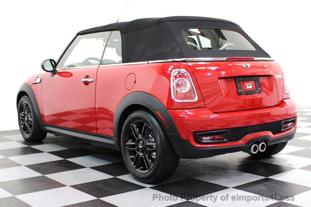 2015 MINI Cooper S Convertible CERTIFIED COOPER S CONVERTIBLE NAVIGATION - 16710023 - 14