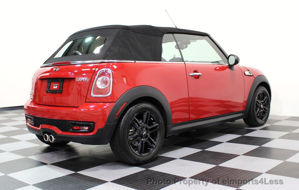 2015 MINI Cooper S Convertible CERTIFIED COOPER S CONVERTIBLE NAVIGATION - 16710023 - 16