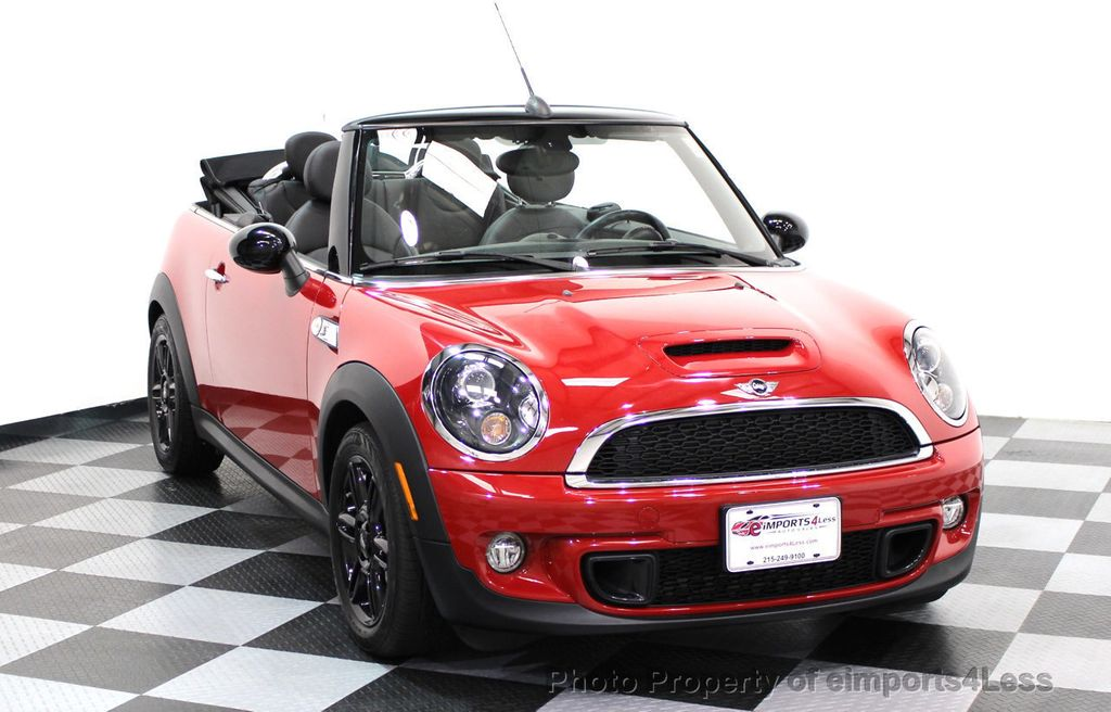 2015 MINI Cooper S Convertible CERTIFIED COOPER S CONVERTIBLE NAVIGATION - 16710023 - 1