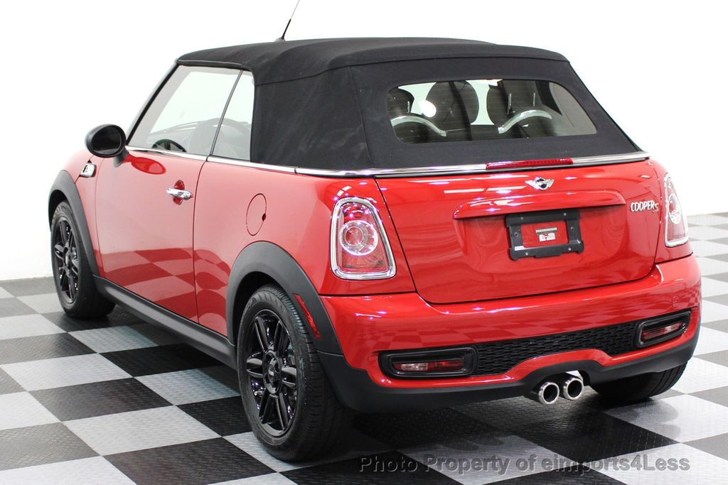 2015 MINI Cooper S Convertible CERTIFIED COOPER S CONVERTIBLE NAVIGATION - 16710023 - 2