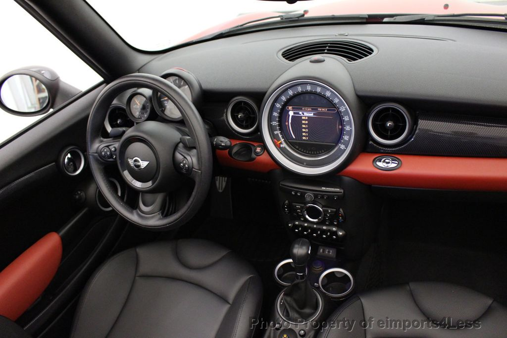 2015 MINI Cooper S Convertible CERTIFIED COOPER S CONVERTIBLE NAVIGATION - 16710023 - 32