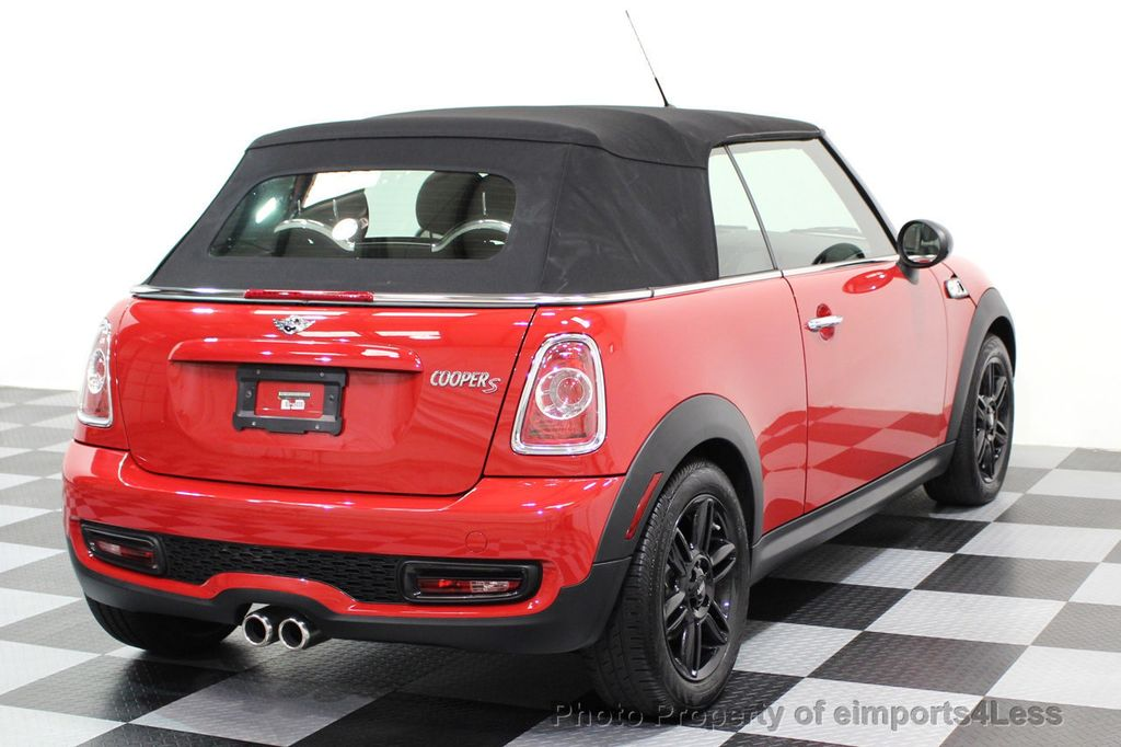 2015 MINI Cooper S Convertible CERTIFIED COOPER S CONVERTIBLE NAVIGATION - 16710023 - 3