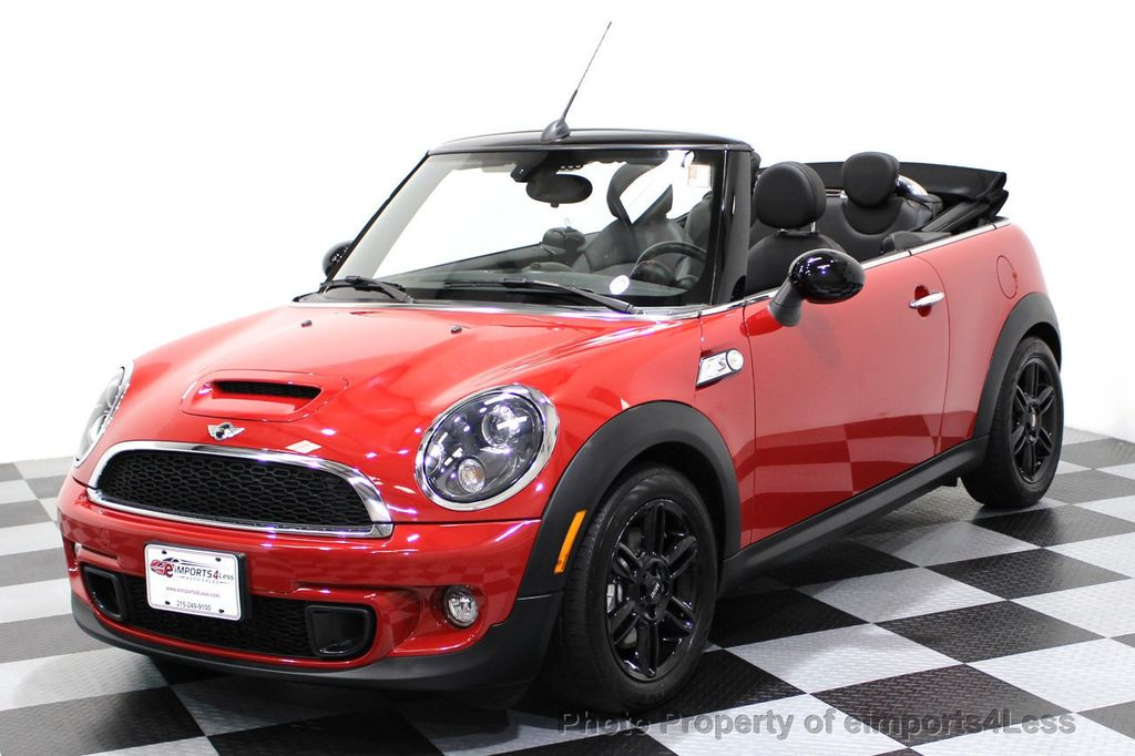 2015 MINI Cooper S Convertible CERTIFIED COOPER S CONVERTIBLE NAVIGATION - 16710023 - 40