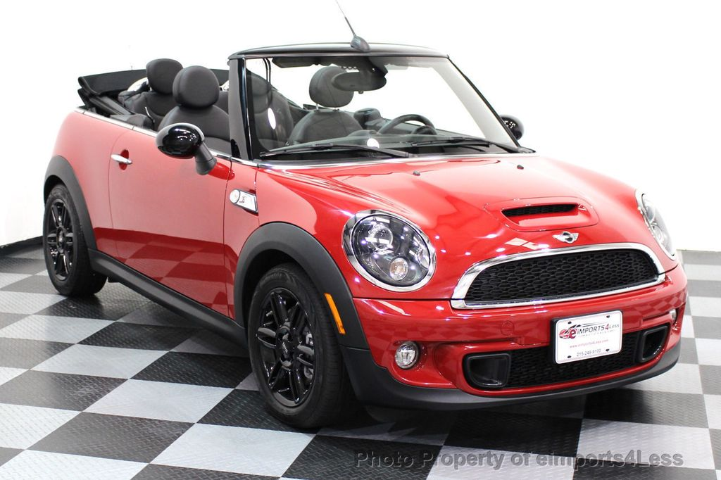 2015 MINI Cooper S Convertible CERTIFIED COOPER S CONVERTIBLE NAVIGATION - 16710023 - 41